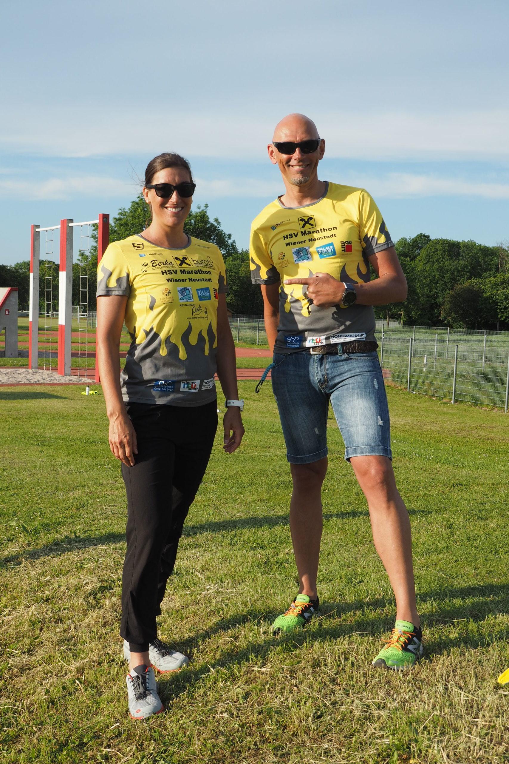 Trainerduo Lisa Hütthaler, Michael Floresku